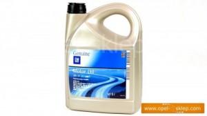 Olej silnikowy - syntetyk 5W-30 5L DEXOS 2 - 1942003 OPEL - GM