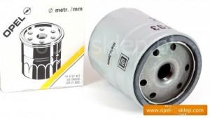 filtr oleju opel 650401